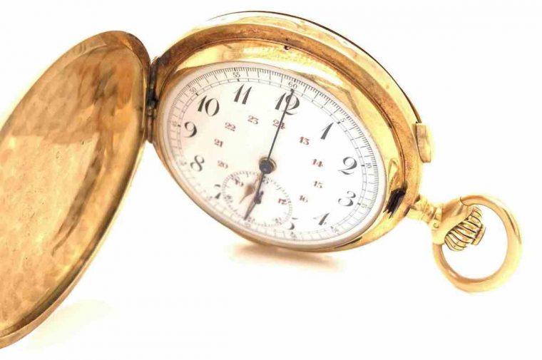 Montre à gousset chronographe