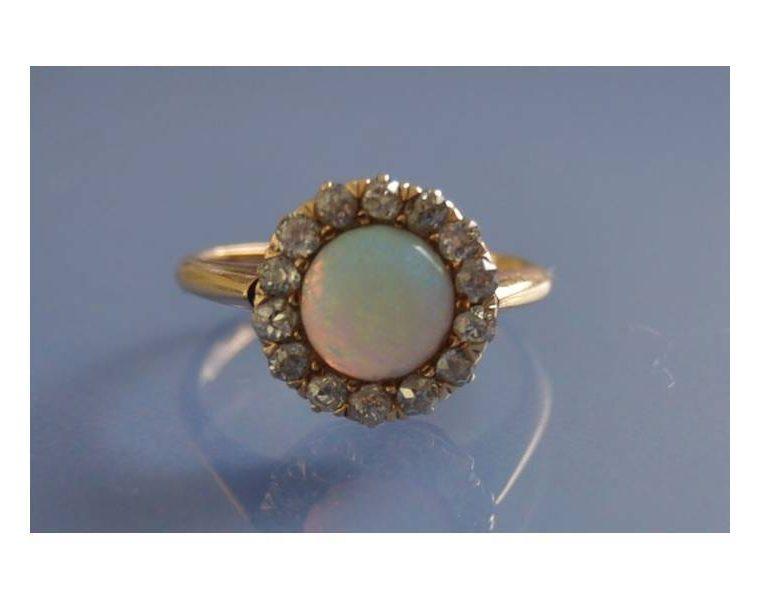 bague opale pas cher