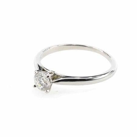 Bague de mariage diamant or