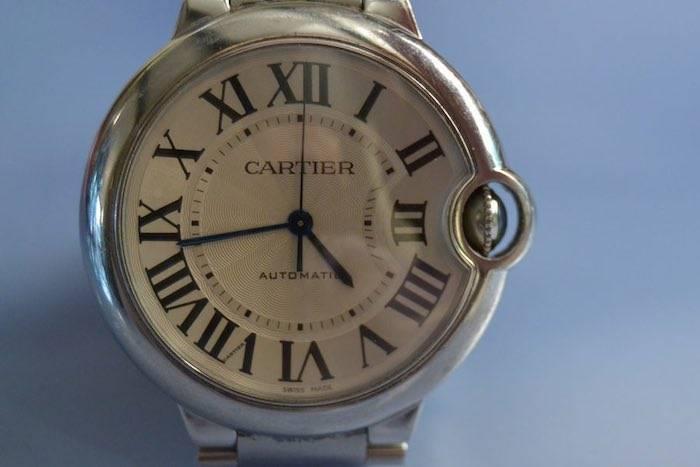 Ballon bleu Cartier