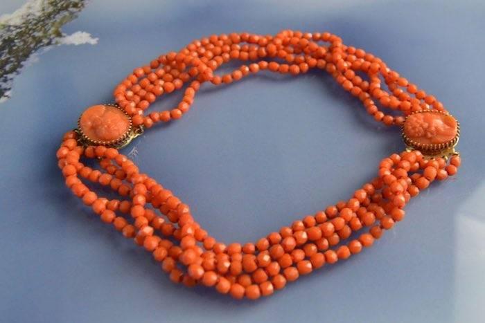Bijoux corail pas cher