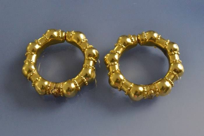Boucle d oreille or creole