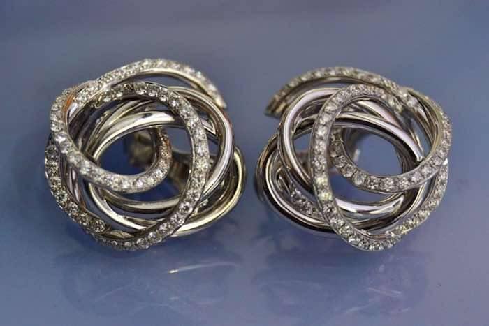 Boucle d oreille diamant femme pas cher