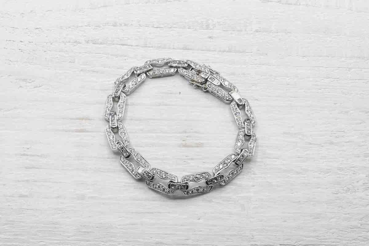 bracelet sertie de diamants