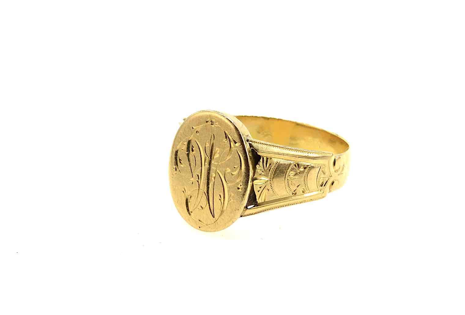 bague ancienne en or