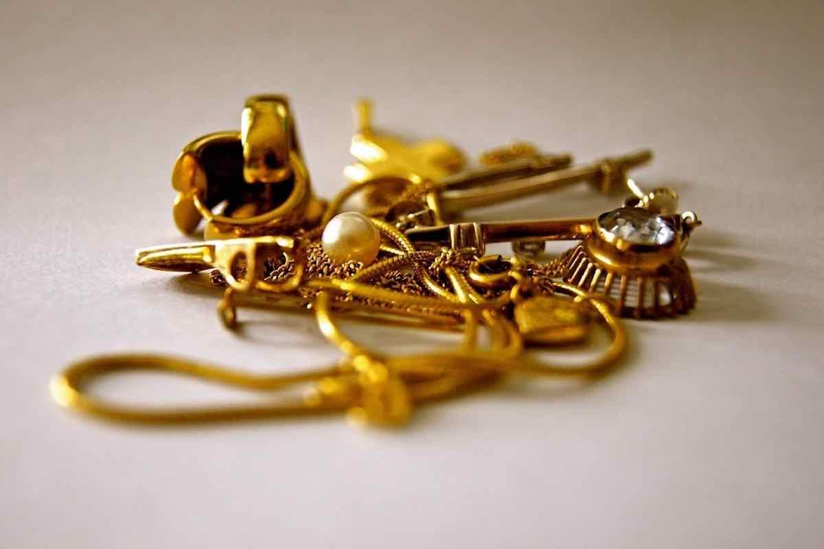 vendre anciens bijoux en or