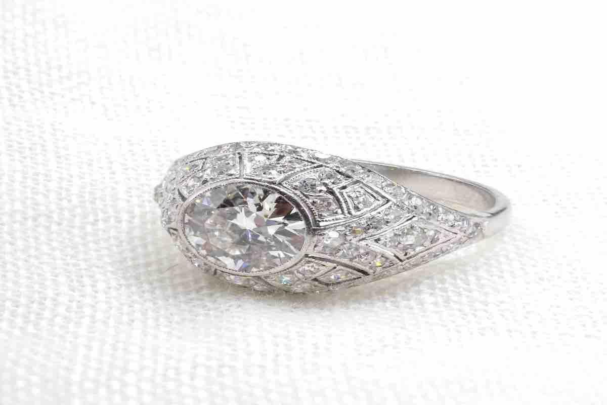 bague de mariage diamants