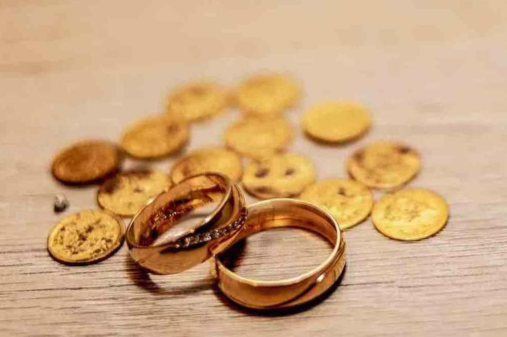 pieces en or à vendre